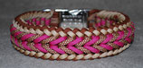 Halsband Happy chocolate fuchsia