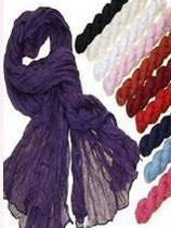Schal unifarben