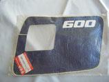 Autocollant Cache latéral Suzuki 600 DR