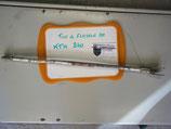 Tige de maintien de flasque AR KTM 240