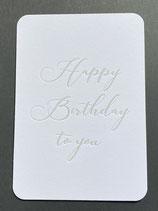 "Art. 20.002 / ""Happy Birthday to you"""