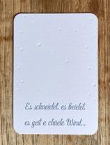 """Art. 18.033 / """"Es schneielet, es beielet..."""""""