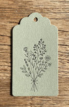 Blumenstrauss / grün