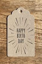 Happy Birthday / braun