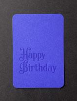 "Art. 21.011 / ""Happy Birthday"" (blau)"