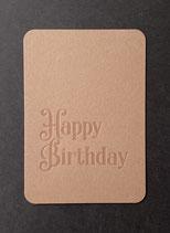 "Art. 21.012 / ""Happy Birthday"" (braun)"