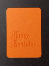 "Art. 21.008 / ""Happy Birthday"" (orange)"