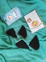 Schutzecken für Meerjungfrauen-Kostüme verschiedener Marken