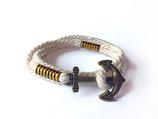 Maritimes Armband mit Anker