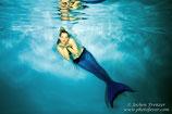 Unterwasser-Fotoshooting und Videodreh