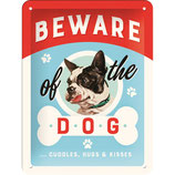 Nostalgic-Art Animal Club - Beware of the Dog, Blechschild 15x20 cm