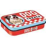 Nostalgic Art PfotenSchild Dog Treats, Leckerlidose für unterwegs