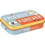 Nostalgic-Art PfotenSchild - Friends Forever, Leckerlidose für unterwegs