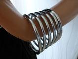 Spiral Arm-Reif, 68 x 70mm, massiv Edelstahl