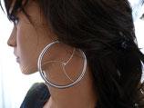 Ohrringe, 5 x 67mm`Shibari`,  1 Paar