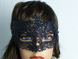 Maske, schwarz
