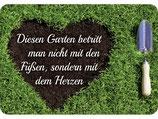 Diesen Garten betritt man nicht mit den Füßen sondern mit dem Herzen KH067