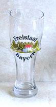 Weizenglas Krumm 0,5 ltr. mit Freistaat Bayern