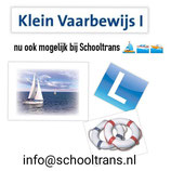 KLEIN VAARBEWIJS 1 - Start Zaterdag 24 April 2021 Regio Moerdijk