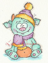 Motivstempel WINTER-MONSTER
