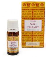Aceite  Aromático Puro Goloka - Nag Champa 10 ml