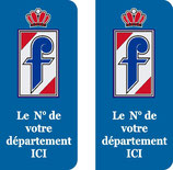 Lot de 2 stickers Pininfarina n° au choix