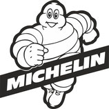 Lot de 5 stickers Michelin et 4 stickers Porsche GT3