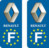 Lot de 2 stickers Renault Europe