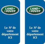 Lot de 2 stickers Land Rover n° au choix
