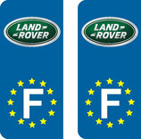 Lot de 2 stickers land Rover Europe