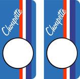 Lot de 2 stickers Choupette n° au choix