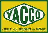 """Sticker """" YACCO '  100 x 146 mm couleurs et Textes conforment à l'original ."""
