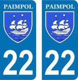 Stickers Armoiries ville de Paimpol