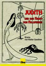 Judith und das Haupt von Holofernes; Drama von Walter Sandtner, Softcover, 162 Seiten