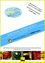 Kochen verbindet, Herausgeber Rotary Club Mödling und Connect Mödling, A4 Hardcover, 160 Seiten
