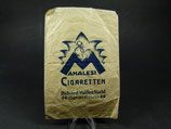 Seltene Mahalesi Cigaretten Tüte Richard Müller Nachf. Gera Reuss Werbetüte