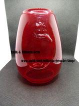 Feuerhand rotes Glas Höhe 14 cm vor 1945 mit Logo