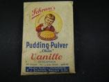 Schramms Puddingpulver Okin original ungeöffnet 20er/30iger Jahre selten !