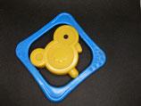 Original DDR Kinderrassel mit Ente unbenutzte Lagerware - Klapper aus Kunststoff
