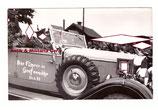 Der Führer in Grafenwöhr 1938 - original Foto in Führer Mercedes mit Standarte