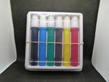 Original Set DDR Filzstifte Filzer 6 verschiedene Farben in OVP