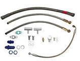 Öl- und Wasseranschluss kit für VR6 R32 Motoren für Garrett GT28 GT30 GT35