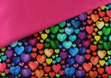 DIY Rainbow Herzen