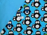 DIY Pumphose Pinguine blau