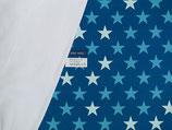 DIY Pumphose Sterne blau