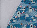 DIY Pumphose Eisbären blau