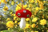 Fliegenpilz Anhänger für Druckknöpfe