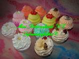 Mini-Badecupcakes Mischpaket
