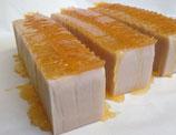 Pflanzenölseife Honeycomb mit Calamine und Aloe Vera - Gesichtsseife