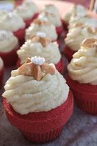 Weihnachts-Badecupcake